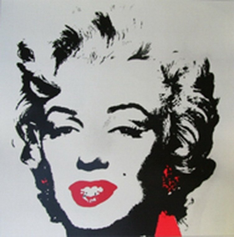 ANDY WARHOL  GOLDEN MARILYN  SUNDAY B. MORNING