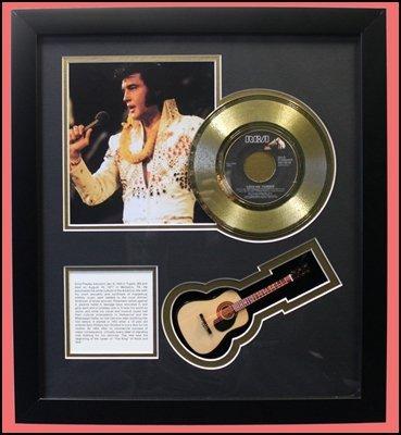 Elvis Presley - Mini Guitar Collage