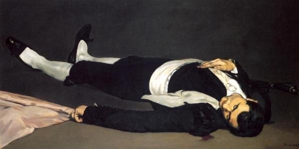EDOUARD MANET - THE DEAD TOREADOR