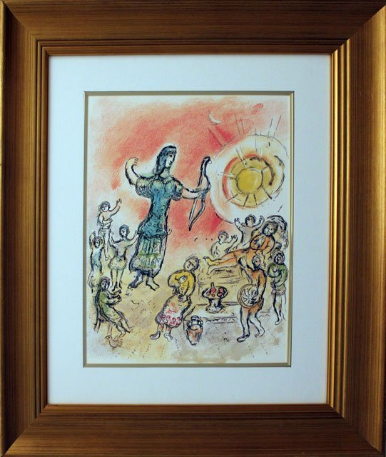 MARC CHAGALL-PENELOPE AND ULYSSES BOW