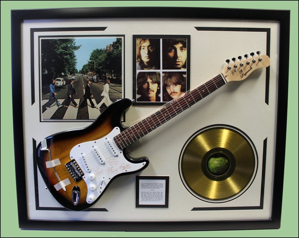 The Beatles Abbey Road Memorabilia - Real Guitar