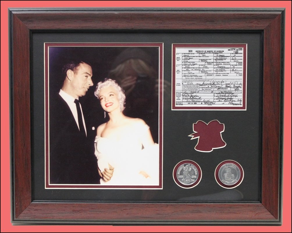 Joe DiMaggio & Marilyn Monroe - Wedding Collector