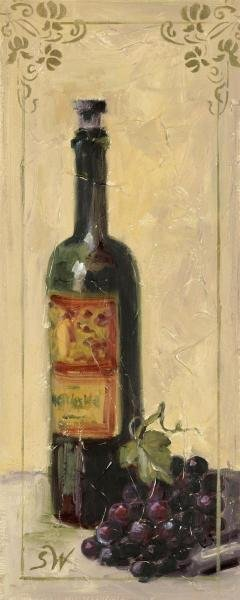 SHARI WHITE - RED WINE WITH GRAPES