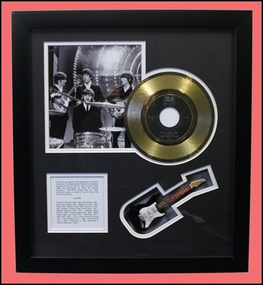 The Beatles - P.S. I Love You - Golden Record Collage