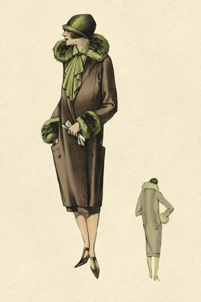 VINTAGE FASHION - OUT FOR THE EVENING