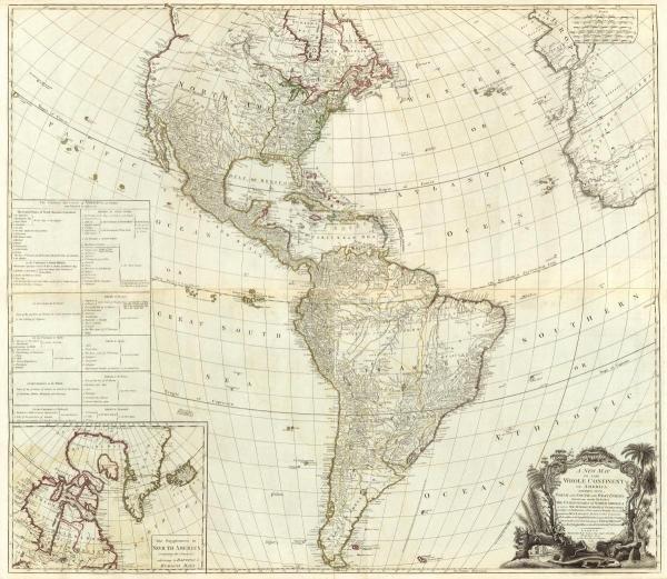 ROBERT SAYER - COMPOSITE: AMERICA, 1786