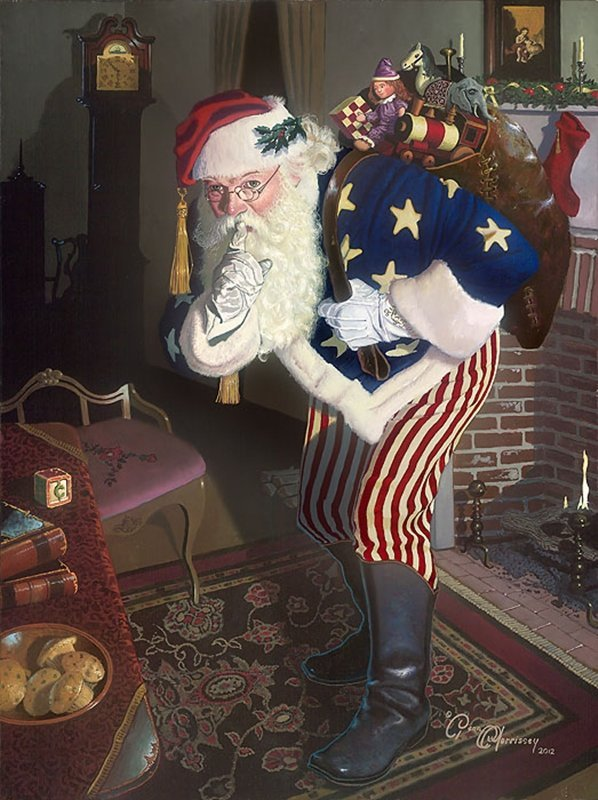 THE PROMISE OF PEACE AND TRANQUILITY - FATHER CHRISTMAS