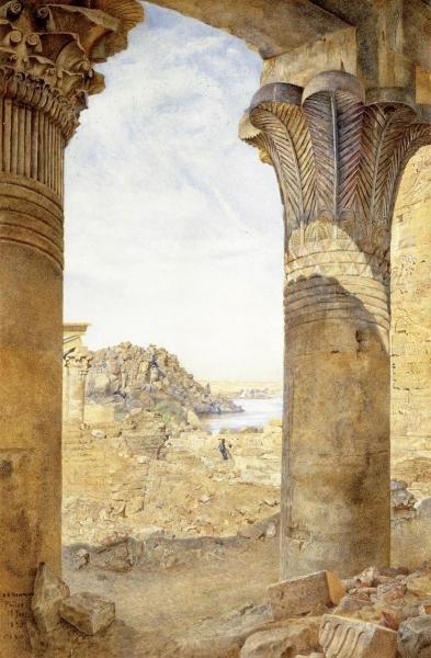 HENRY RODERICK NEWMAN - AMONG THE RUINS