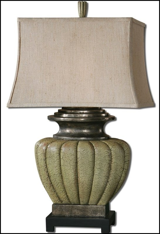 TUFILLO PALE GREEN LAMP