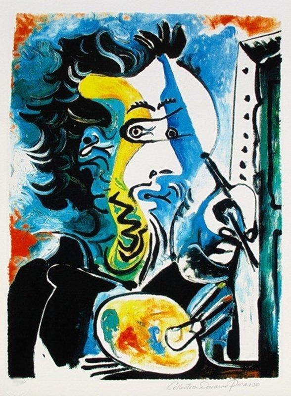 #79 THE ARTIST PICASSO ESTATE SIGNED GICLÉE