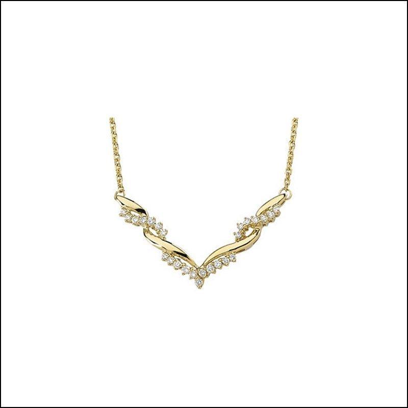 5/8 CT TW DIAMOND NECKLACE