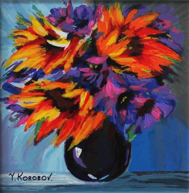 YANAH KOROBOV - RAINBOW BLOOM