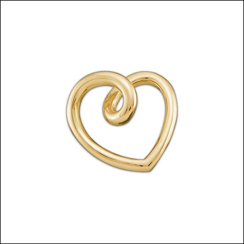 GOLD FASHION HEART PENDANT