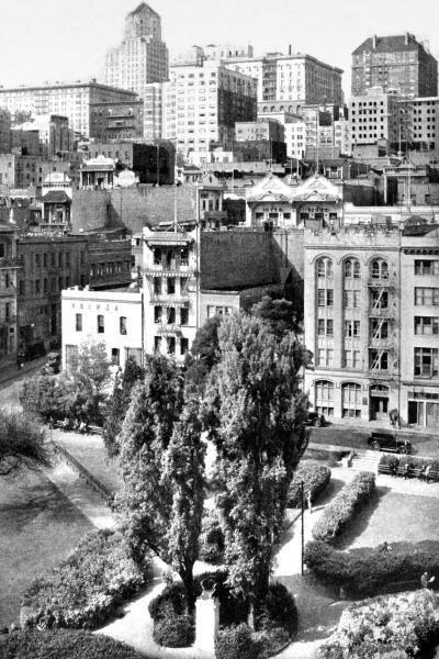 VINTAGE SAN FRANCISCO - PORTSMOUTH SQUARE, SAN