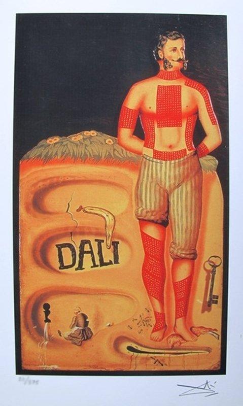 SALVADOR DALI THE SURREALIST FACSIMILE SIGNED &