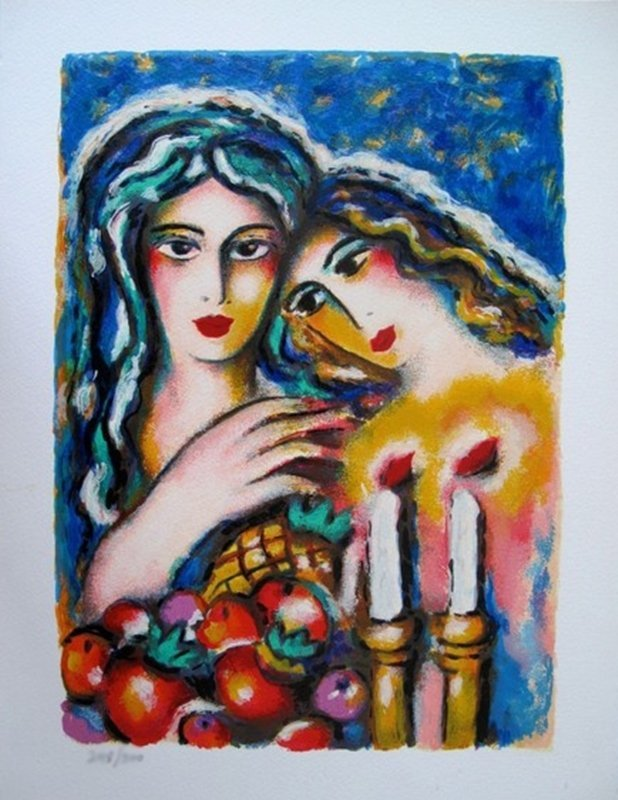 ZAMY STEYNOVITZ MOTHER AND DAUGHTER LIMITED ED.