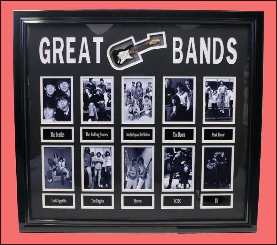 Great Bands - Entertainment Collage