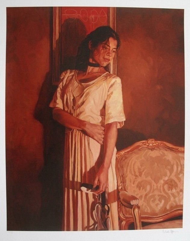 MARK SPAIN LA ROBE D'LVOIRE HAND SIGNED LIMITED ED.