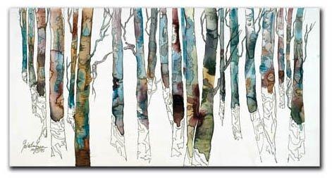 Cheri Greer - Birch I 12x24