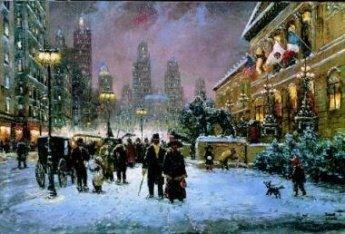 Robert Lebron  - CHICAGO ART INSTITUTE, CANVAS