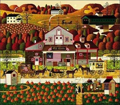 Charles Wysocki  - OLD GLORY FARMS ARTIST PROOF