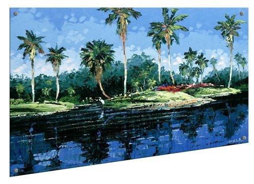 Joseph LaPierre - Blue Lagoon 24x32