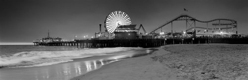 Sean Davey  - Santa Monica Pier by Sean Davey