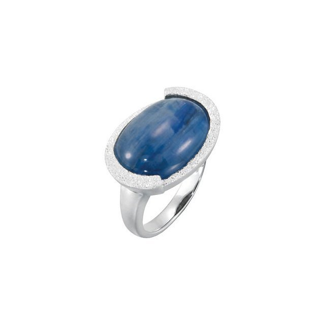 GENUINE MILKY KYANITE RING