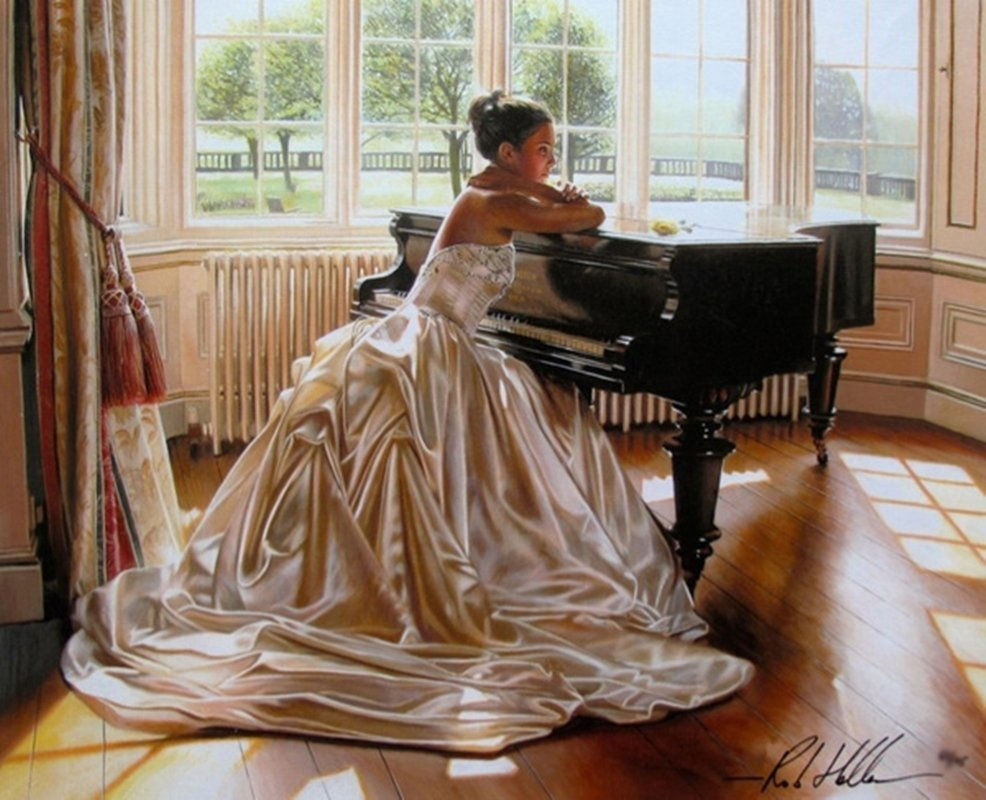 ROB HEFFERAN THE PIANO ROOM LIMITED ED. HAND SIGNED