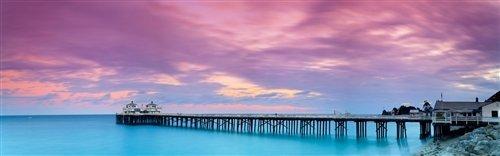 Sean Davey  - The Grand Old Malibu Pier by Sean Davey