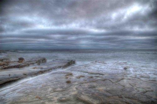 Sean Davey  - La Jolla Rocks by Sean Davey