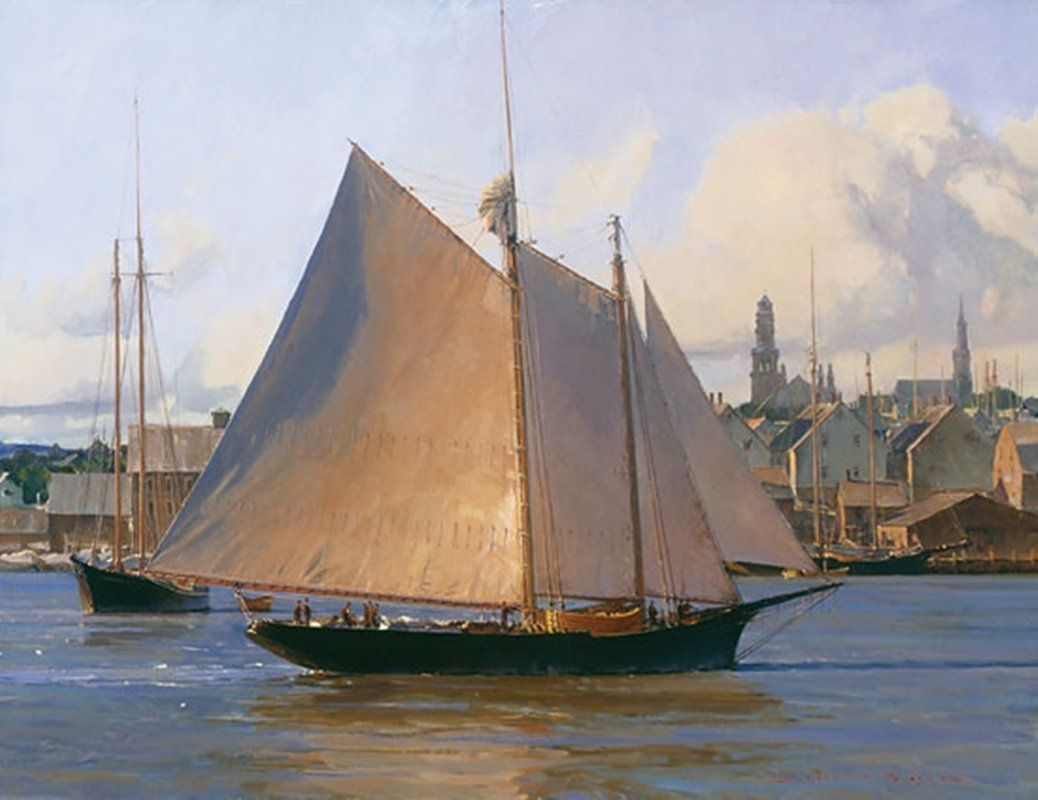 AFTERNOON ARRIVAL, GLOUCESTER - CHRISTOPHER BLOSSOM