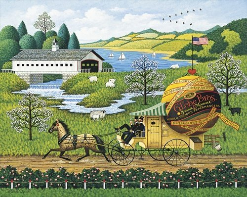 Charles Wysocki - PAPERBOYS, THE LIMITED EDITION PRINT