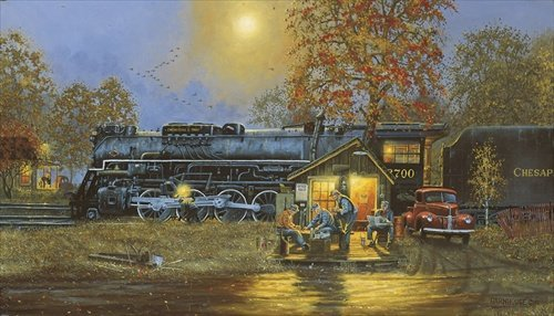 Dave Barnhouse  - PASSING TIME ARTIST PROOF