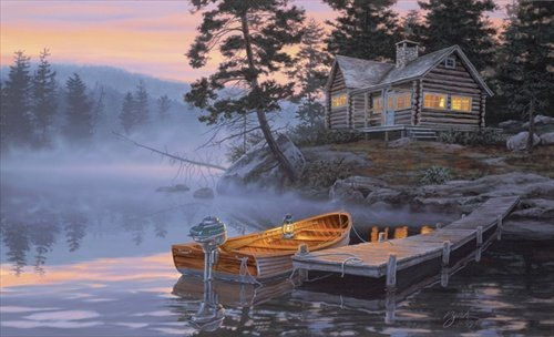 Darrell Bush - SILENT SHORES LIMITED EDITION PRINT