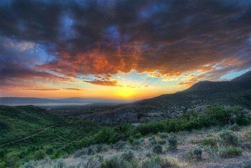 Sean McGrath  - Squaw Peak Sunset Provo UT by Sean