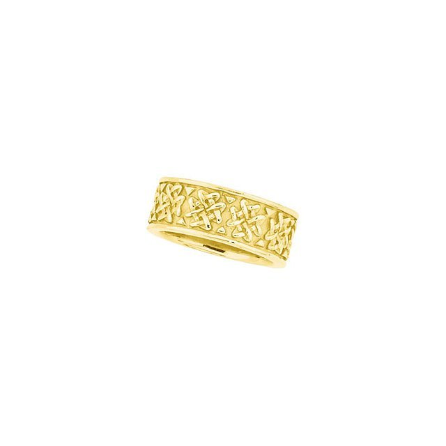 8.25MM WOVEN DESIGN BAND