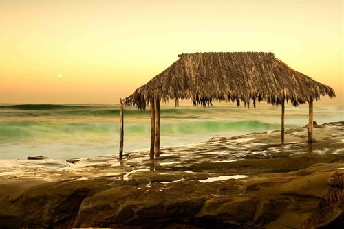 Anthony Ghigia  - The Surf Shack at Windansea Beach by