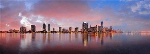 David Deng  - Miami Twilight by David Deng