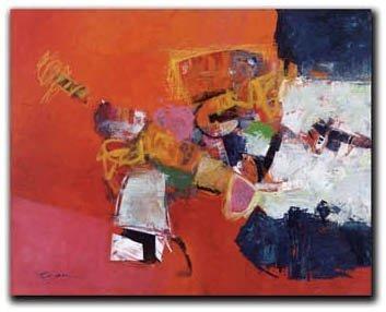 Steve Capiz - Dreams of Madrid 24x30