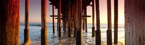 Sean Davey  - What Lies Beneath Ventura Pier by Sean