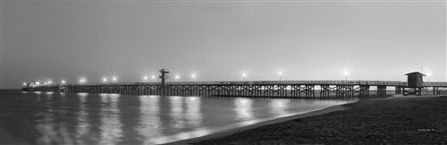 Sean Davey  - Seal Beach Pier by Sean Davey