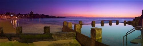 Sean Davey  - Coogee Beach Dawn. NSW by Sean Davey