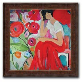 Christina Hankins - Bed of Roses 28x28