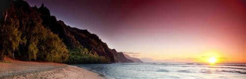 Sean Davey  - Sunset on Kauai by Sean Davey