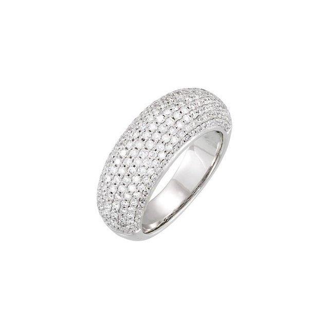 1 1/2 CT TW DIAMOND RING