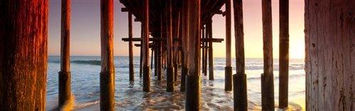 Sean Davey  - What Lies Beneath Ventura Pier by Sean