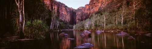 David Evans  - Jim Jim Falls Kakadu National Park by