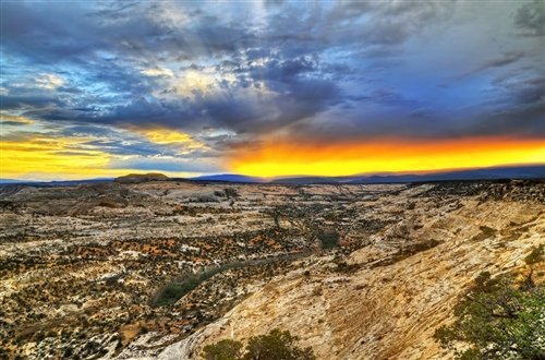 Sean McGrath  - Escalante Sunset UT by Sean McGrath
