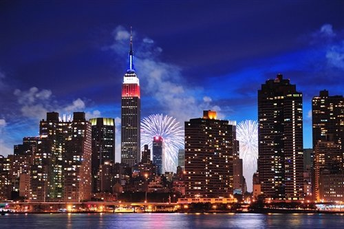 David Deng  - New York Fireworks by David Deng